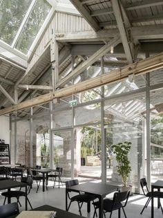 Houtloods in Tilburg door Bedaux de Brouwer - alle projecten - projecten - de Architect