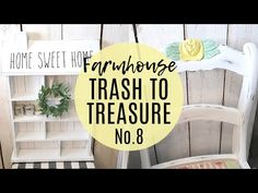 Today we are turning some thrifted items into beautiful Farmhouse Decor! I show you how easy it is to upcycle thrifted finds! Mini Dachshund, White Cottage, Trash To Treasure, Buffalo Check, Winter Scenes, Decorating On A Budget, Upcycled Furniture, Diy Projects To Try, Diy Videos
