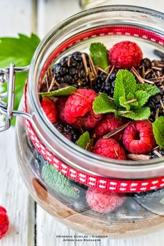 Apron and Sneakers - Cooking & Traveling in Italy and Beyond: Double Chocolate Cheesecake with Berries in a Jar
