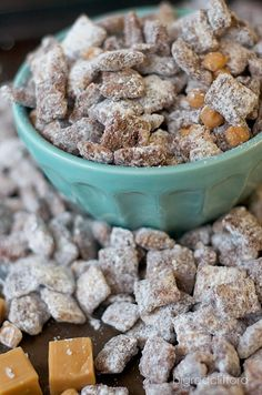 salted caramel chocolate muddy buddies
