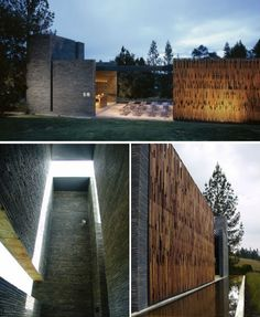 Modern Religion: 13 Contemporary Churches & Chapels | WebUrbanist Biophilic Architecture, Sacred Architecture, Religious Architecture, Church Architecture, Contemporary Architecture, Interior Architecture, Modern Church, Church Design, Commercial Architecture