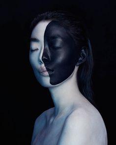 Experimental Abstract Portraits – Fubiz Media                                                                                                                                                                                 More