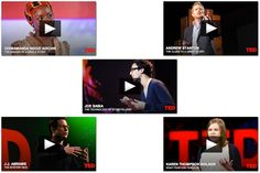 5 TED talks all brand storytellers must watch. ~ The PR Daily.