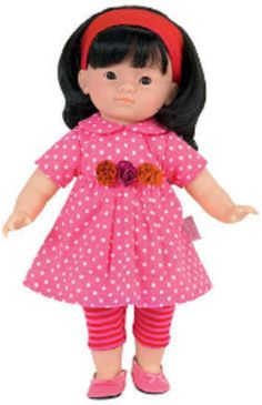 """COROLLE Baby Doll Miss Corolle LOU soft body 14"""" tall 3+ years  #Corolle #Doll"""