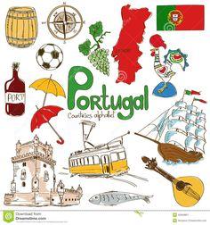 Resultado de imagem para portuguese icons