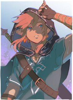 The Legend Of Zelda, Legend Of Zelda Memes, Legend Of Zelda Breath, Fantasy Characters, Anime Characters, Overwatch, Game Character, Character Design, Zelda Drawing