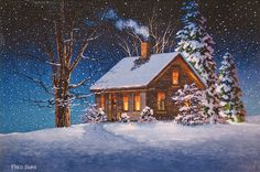 Holiday in the Hills by Fred Swan