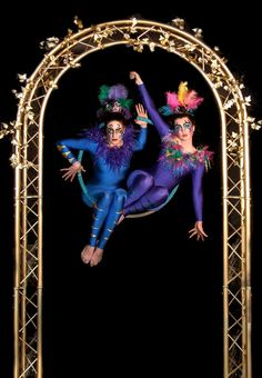 The Birdcage - London | Free Standing Aerial Hoop Shows to Hire - Contraband International Ltd
