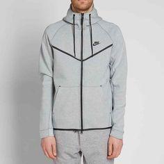 2533cd218 Nike Tech Fleece Windrunner Hoodie Jacket Mens 3XL Barely Grey Black #Nike # Hoodie