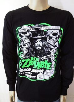 Fully customizable rob zombie shirt Blood by CHOPSHOPCLOTHING, $25.00