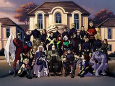 X-Men: HISTORIA.. EL COMIENZO