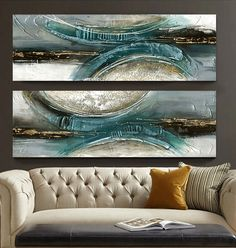 Find More Painting & Calligraphy Information about Hand painted oil painting abstract modern blue green gray wove bottle stickers digital printing canvas wall art Home Decor ,High Quality decorative paper art,China decor art furniture Suppliers, Cheap arts and crafts style decorating from WHAT ART on Aliexpress.com