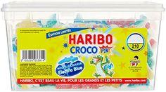 Haribo Bonbon Gélifié Croco Pik x 210 Pièces 1,28 kg: Bonbons gélifiés Boite plastique refermable Ne convient pas aux enfants de moins de 3…