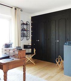 black doors wardrobe
