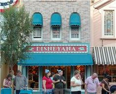 Disneyland Must #4- the Disneyana shop on Main Street USA. They create custom sketches of your favorites characters.