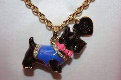 New! NIB! Juicy Couture ASPCA Scottie Dog Pendant Charm Necklace YJRU7294 $78 #Pendant