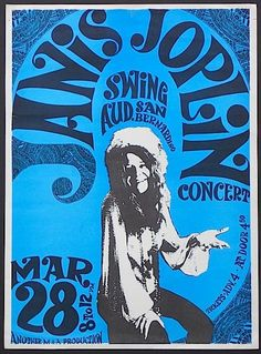Very cool, very rare Janis from unusual venue in San Bernardino, Ca