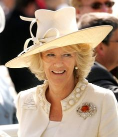 The Duchess of Cornwall, June 20, 2007 in Philip Treacy | The Royal Hats Blog