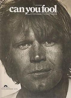 Sheet Music 1978 Can You Fool Glen Campbell 256