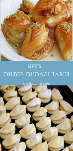Arabic Dessert, Yogurt Cups, Turkish Recipes, Food Crafts, Hot Dog Buns, Sweet Recipes, Deserts, Dessert Recipes, Herbs