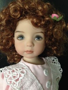 """Dianna Effner 13"""" Little Darling Doll MARIAH Painted by Geri Uribe in 2012 w COA 