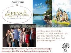 """Feya Residencia"" Featuring First Time In India Villa Apartments Concept , An Epitome Of Luxury & Lifestyle !  www.pushpgangaventures.com"