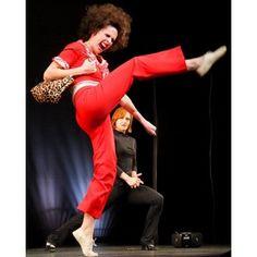 """I like to KICK, stretch, and KICK!! ""I'm fifty...5, 0, FIFTY!!""   Molly Shannon"