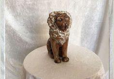 Lejon - Ego Stengods  225.00 kr Initials, Scale, Lion Sculpture, Inspiration, Weighing Scale, Biblical Inspiration, Stairway, Inhalation, Libra