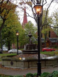 The perfect city for a leisurely stroll. Charlottetown, Prince Edward Island, Canada