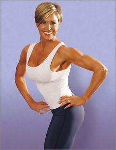 Fifty, Fit, and Fabulous!!! ... Tosca Reno, age 55, Nutritionist and Wellness Author .....