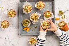 Rüebli-Cake im Töpfli Cake, Desserts, Pistachios, Kid Recipes, Cake Ideas, Cooking, Gifts, Tailgate Desserts, Deserts