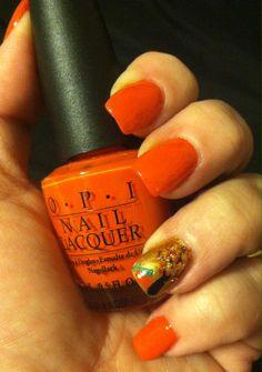 Fall nail design! 2013