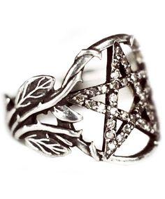 Pentagram Ring w/ Diamonds by Pamela Love