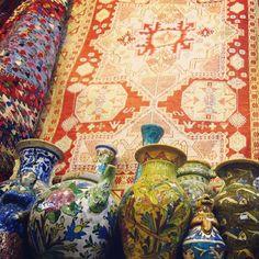 Handicrafts, Tajrish - one of my favorite markets in Iran