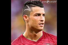 Cristiano Ronaldo estreia novo corte de cabelo em jogo contra Estados Unidos na Arena Amazônia, neste domingo, 22 de junho de 2014