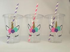 Unicorn Party Cups, Unicorn eyelash party, unicorn birthday party, Unicorn Baby Shower is part of children Party Unicorn - unicornpartyfavorcupsunicorn ga search query rainbow&ref shop items search 1 Pony Party, First Birthday Parties, First Birthdays, Birthday Ideas, 21st Birthday, Baby Birthday, Baby Shower Unicornio, Unicorn Themed Birthday, Unicorn Baby Shower