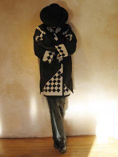 Los Ojos Wrap Semi-Long    Pendleton woolen. Hand made in Taos, NM 87571