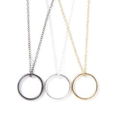 Who said Valentine's Day is just for your significant other? Get these Best Friends Forever Ring Necklaces to show the love to your besties!