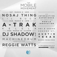 The Mobile Movement SXSW
