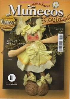 Munecos Country 38 - Marcia M - Picasa Web Albums Sewing Magazines, Web Gallery, Fabric Toys, Primitive Crafts, Book Crafts, Craft Books, Stuffed Toys Patterns, Softies, Free Books