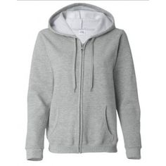 Personalized Adult Hooded Sweatshirt White Only