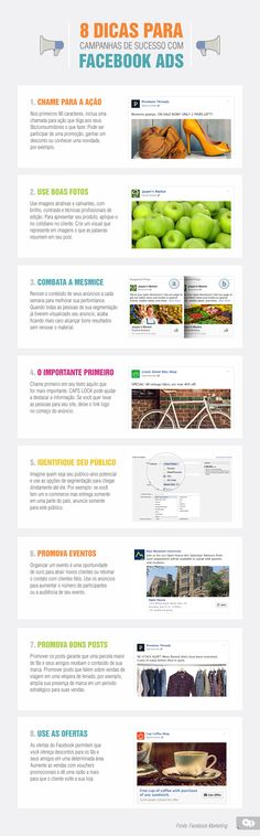 8 dicas para campanhas de sucesso com Facebook Ads.