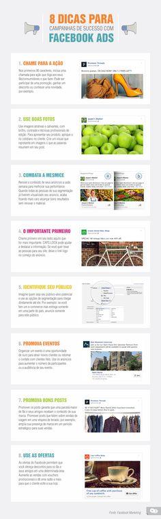 Oito dicas para campanhas de sucesso com Facebook Ads
