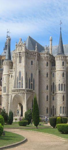 Palacio Episcopal, Astorga, León, España.