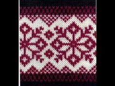 Knitting Videos, Knitting Charts, Loom Knitting, Knitting Stitches, Knitting Socks, Knitting Patterns, Crochet Patterns, Delft, Fair Isle Pattern