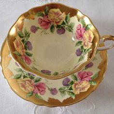 Paragon Sweet Pea Tea Cup & Saucer