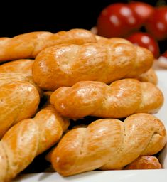 Bread Rolls, Greek Recipes, Pretzel Bites, Biscuits, Cookies, Sweet, Food, Crack Crackers, Crack Crackers