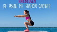 Kniebeugen - Die Übung mit Knackpo-Garantie