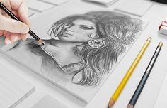 Sketchbook Mockup Free PSD | PSDDude
