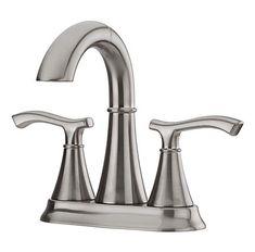 brushed nickel ideal centerset bath faucet - f-548-idkk - 1